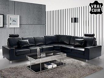 BELIANI - canapé d'angle a - Adjustable Sofa