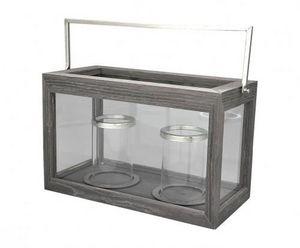 Demeure et Jardin - double photophore moderne - Candle Jar