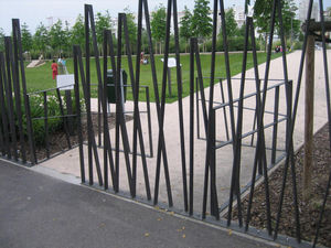 METALCO - MOBIL CONCEPTS -  - Fence With An Openwork Design
