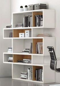 TemaHome - temahome bibliothèque london laquée blanc mate com - Bookcase