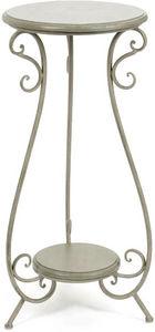 Amadeus - étagère à plantes métal coeur - Pedestal Table