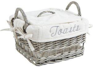 Aubry-Gaspard - panier à toasts en osier - Bread Basket