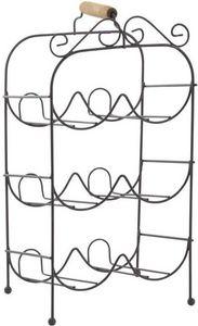 Aubry-Gaspard - porte-bouteilles arabesques - Bottle Rack
