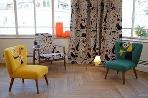 Jules Pansu - miro - Upholstery Fabric