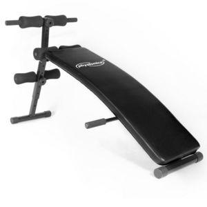 WHITE LABEL - banc de musculation pliable abdominaux - Exercise Bench