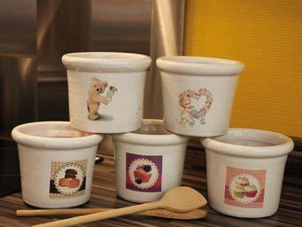 Les Poteries D'albi - vase droit - Kitchen Jar