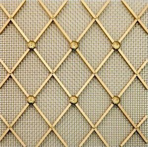 BRASS - g03 001' - Decorative Mesh