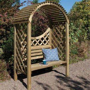 ROWLINSON - keswick arbour - Arbour Seat