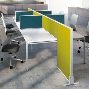 Countertop desk partition