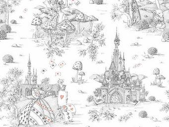 THEVENON - au pays des merveilles - Upholstery Fabric