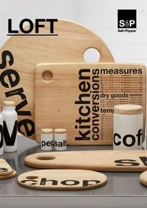 SALT&PEPPER / O-TABLEWARE -  - Cutting Board