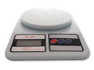 WHITE LABEL - balance culinaire affichage digital petit electrom - Electronic Kitchen Scale