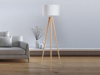 BELIANI - nitra - Trivet Floor Lamp