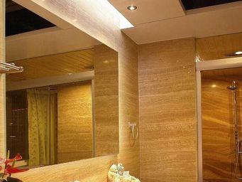 UsiRama.com - miroir lumiere salle de bain avec led future2 - Shower Mirror