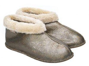 BABBI - apache mosaic silver - Slippers