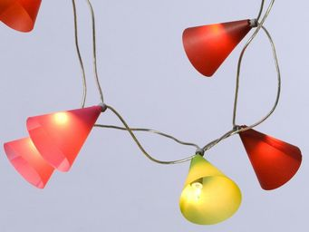 Pa Design - guirlande - lotus 50 lumières 5m   guirlande et ob - Lighting Garland