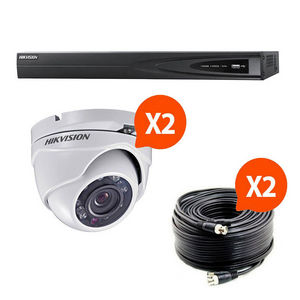 HIKVISION - kit videosurveillance turbo hd hikvision 2 caméra - Security Camera