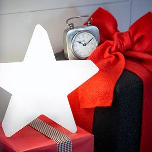 8 Seasons Design - etoile lumineuse blanche changement couleur led - Christmas Decoration