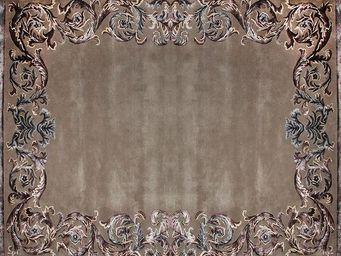 EDITION BOUGAINVILLE - boudeuse frame purple - Modern Rug