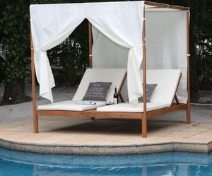 MIGANI Home - alabama - Double Sun Lounger