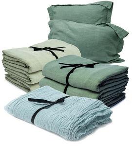 Couleur Chanvre - --..chanvre pur et gauze - Bed Sheet