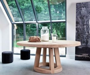 Odesi - solid - Round Diner Table