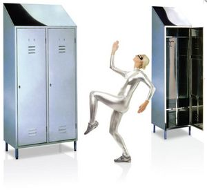 EVP - vestiaire inox - Cloakroom