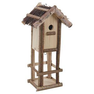 Aubry-Gaspard - nichoir et mangeoire pour oiseaux - Birdhouse