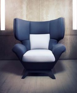 HORIZON 47 - moon - Armchair With Headrest