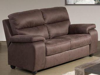 WHITE LABEL - canapé relax électrique 2p - acbar - l 171 x l 94 - 2 Seater Sofa