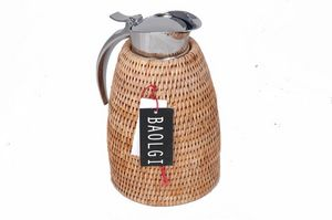 BaolgiChic - rotin naturel - Thermal Coffee Pot