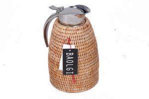BaolgiChic - rotin naturel - Thermal Coffee Pot