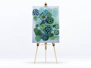 la Magie dans l'Image - toile jardin vert - Digital Wall Coverings