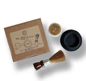 MAS DU ROSEAU - coffret du barbier - Shaving Brush