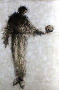 HANNA SIDOROWICZ - hamlet - Contemporary Painting