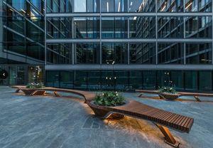 Alexis Tricoire - Tricoire Design - botanic twist-- - Town Bench