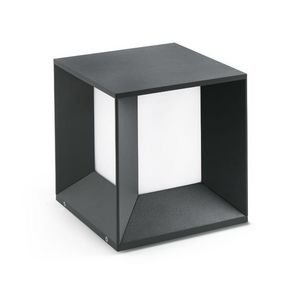 FARO - borne carrée extérieure mila led ip65 h24 cm - Step Lights