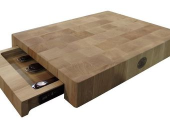 CHABRET - billot barbecue en bois de charme - Cutting Board