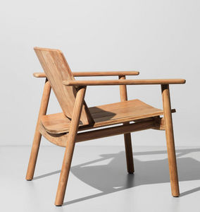 Kettal - low club - Garden Armchair