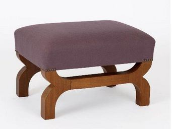 Clock House Furniture - skye stool - Footstool