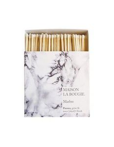 MAISON LA BOUGIE - marbre - Match Box