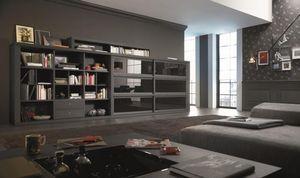 CALGARI -  - Open Bookcase