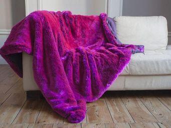 nuance pivoine - rose schoking - Fake Fur