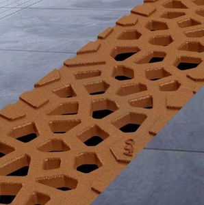 ACO France - corten - Grid For Gutter