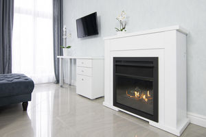 PLANIKA - lincoln - Flueless Burner Fireplace