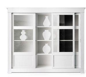 LANDO - l121 - Sliding Door Bookcase