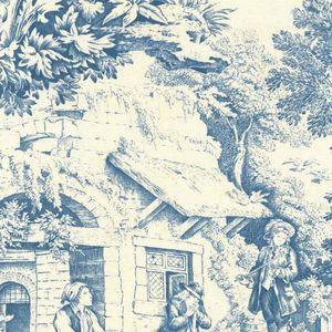 DOUCEUR DE FRANCE -  - Toile De Jouy Print Material