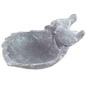 CHEMIN DE CAMPAGNE - bain à oiseaux mangeoir abreuvoir en ciment - Birdbath