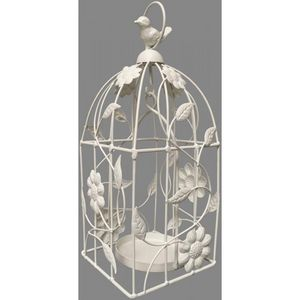 CHEMIN DE CAMPAGNE - cage à oiseau oiseaux à bougie bougeoir porte plan - Outdoor Lantern