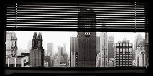Nouvelles Images - affiche vue sur manhattan new york - Poster